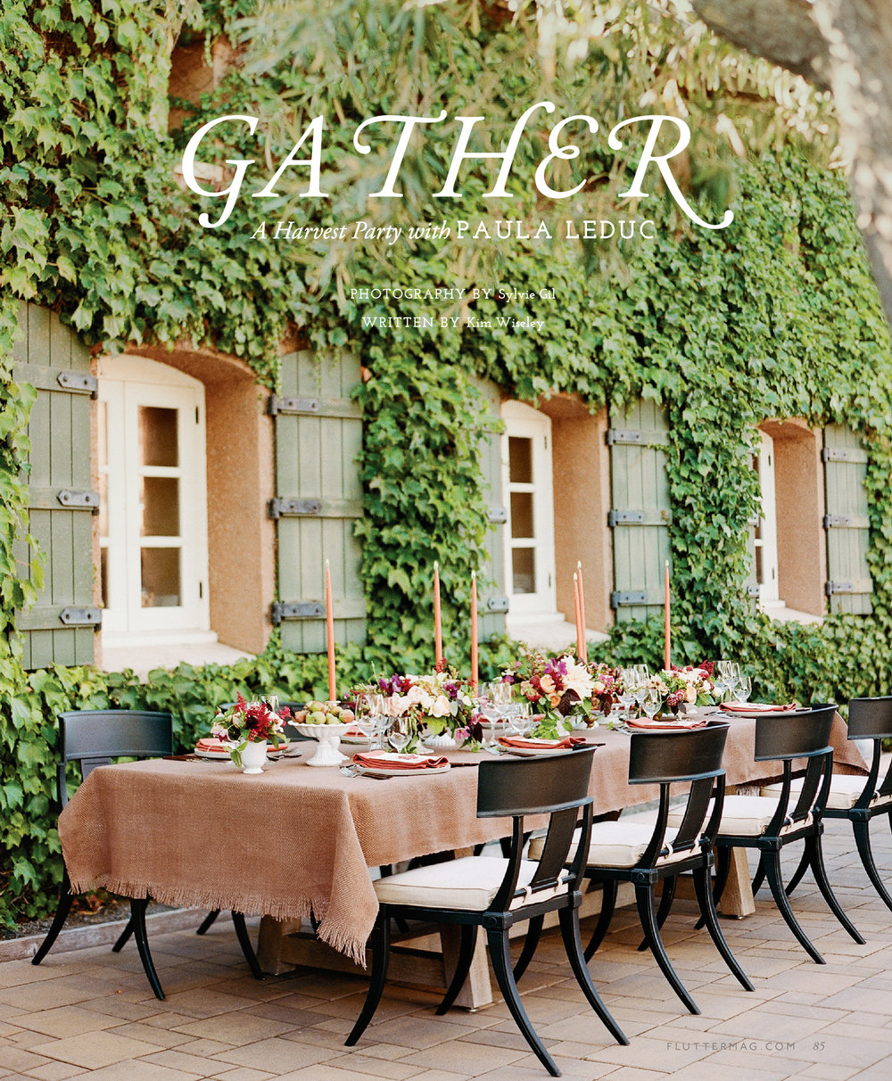 """Gather"", an editorial piece published in Flutter Magazine Issue 11; Sylvie Gil Photography"
