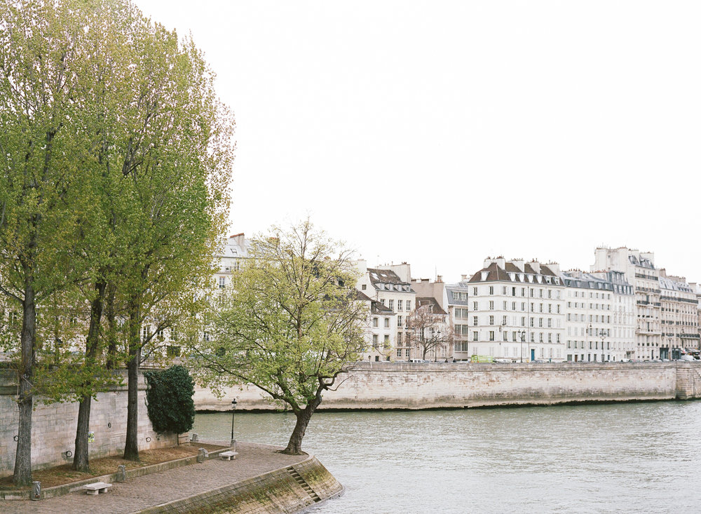 A view of the Seine in Paris, France; Sylvie Gil Photography