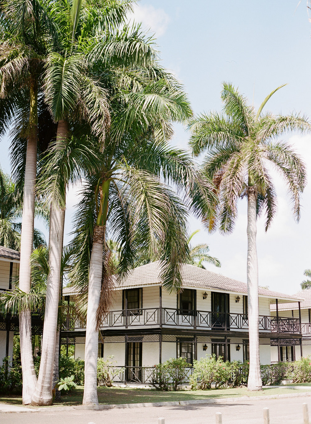 Luxury beachside hotel cottages for a Montego Bay, Jamaica wedding; Sylvie Gil Photography