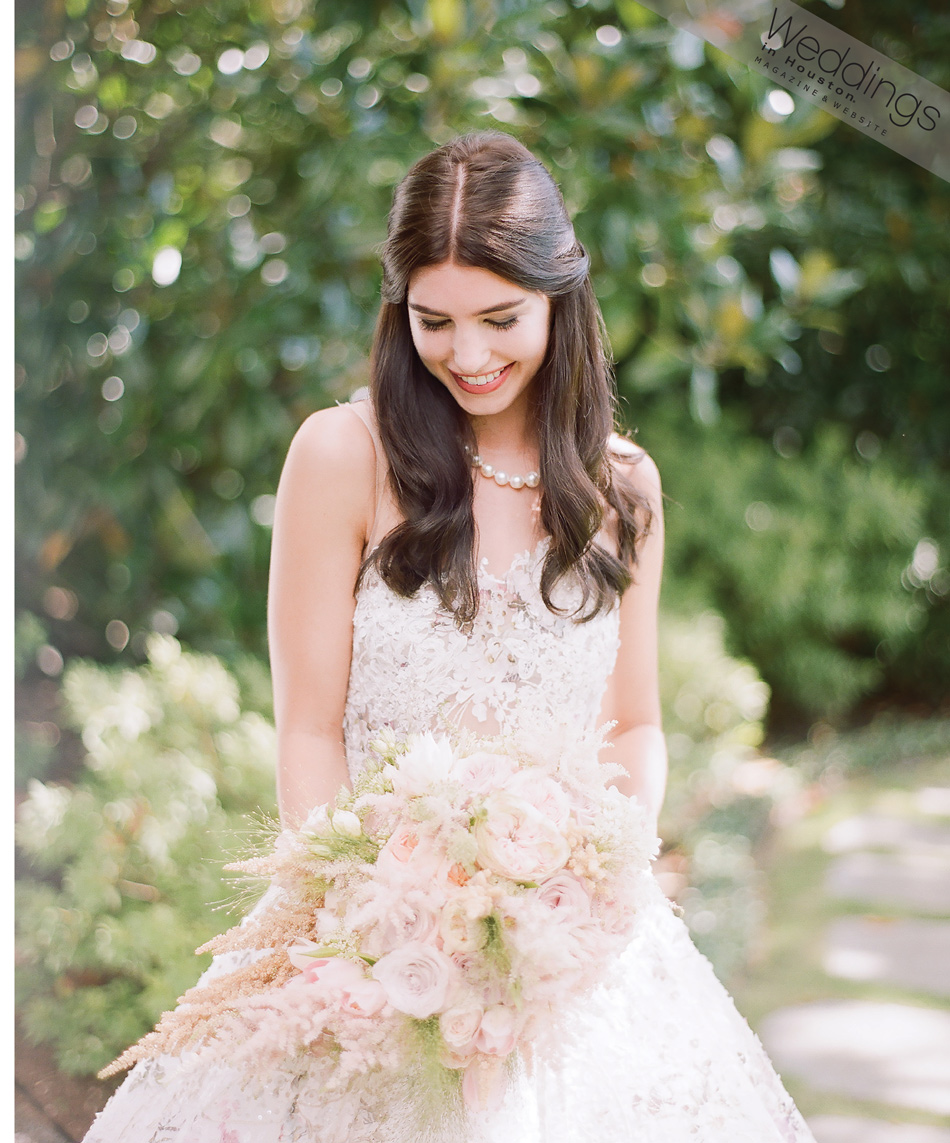 Weddings in Houston editorial bride for 'A Southern Fete'; Sylvie Gil Photography
