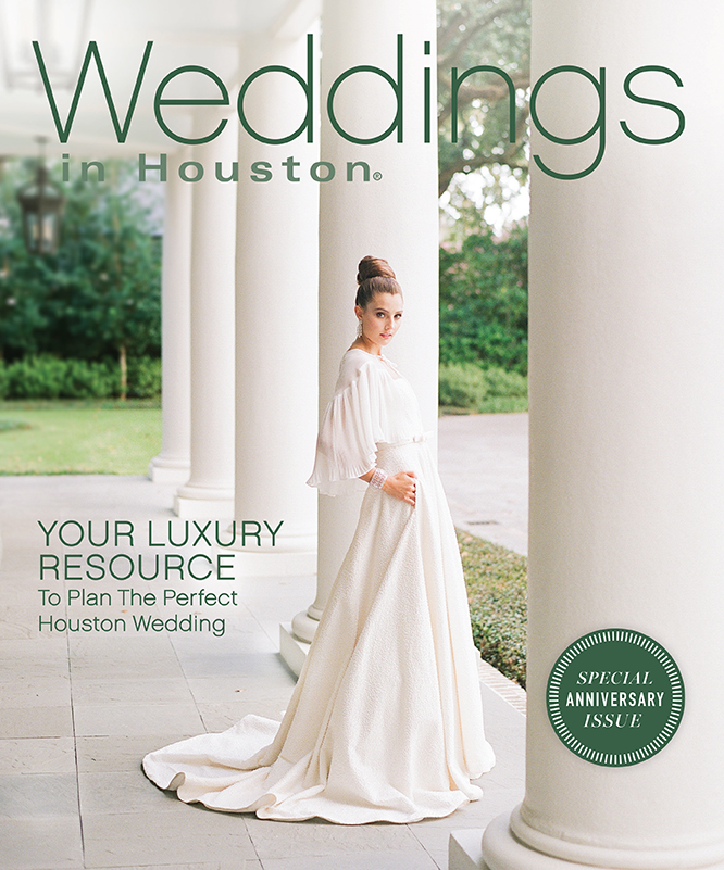 Weddings in Houston May cover, shot by Sylvie Gil Photography