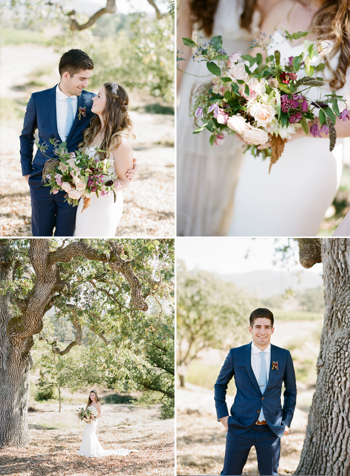 Tali & Sam's couple session with Sylvie Gil before their Napa Valley ceremony