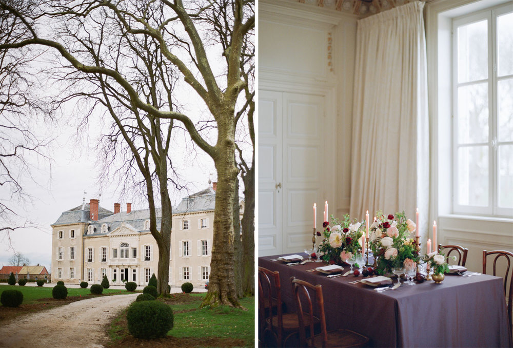 A chateau in Burgundy France; Sylvie Gil Photography