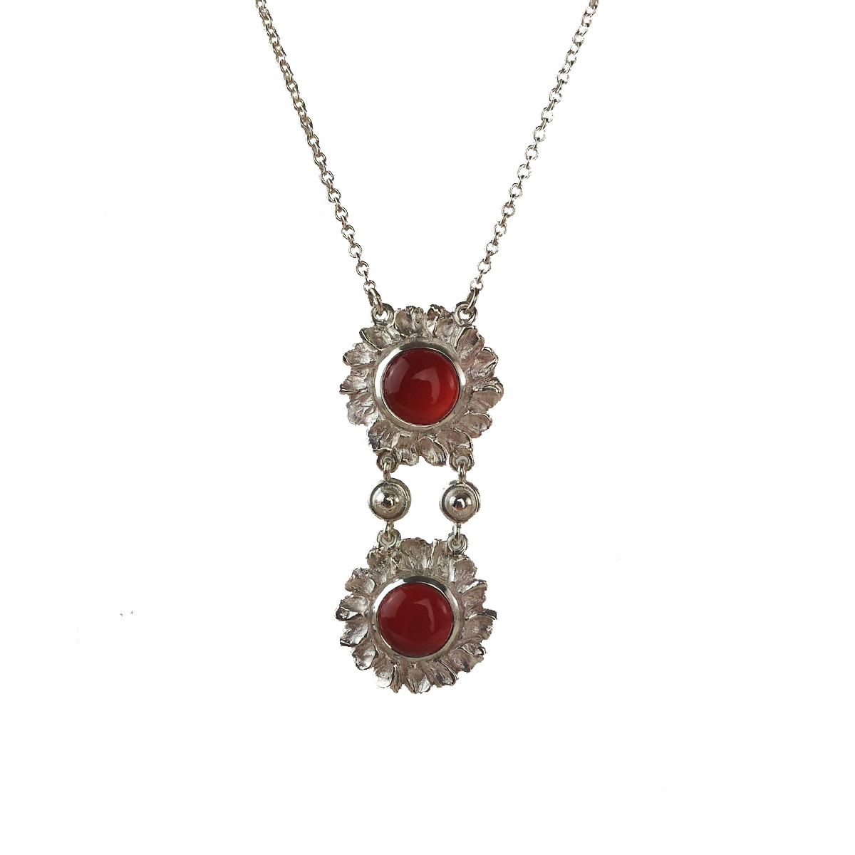short multi carnelian pendant pinkpowder com necklace