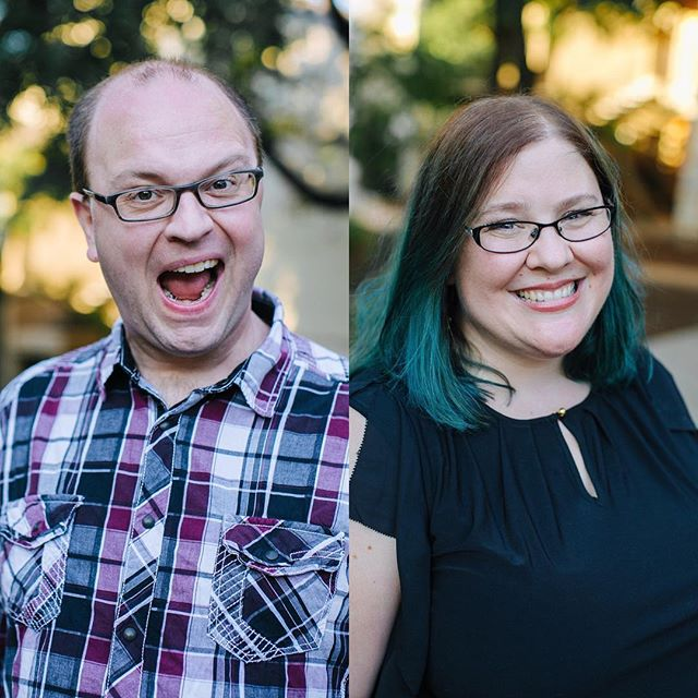 How fun are these headshots for the podcasting duo over at @creationcurve! . . . #austintx #austin #austinphotography #austinphotographer #austinheadshotphotographer #austinheadshots #creativeheadshots #vsco #localaustinbusiness #makeportraits #shootandshare #igtexas #igaustin #instagood #instaphotography #podcasting #podcastheadshots #podcastduo #creationcurve #austinpodcast #husbandwifeteam #vscoportait