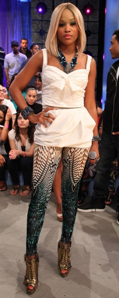 Eve ,  BET  106th and Park appearance