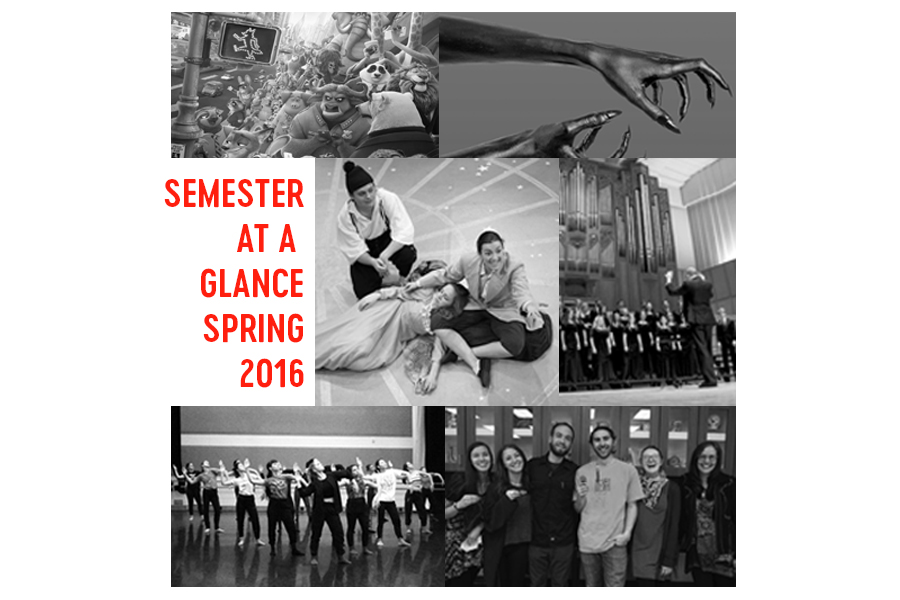 Semester At A Glance: Spring 2016