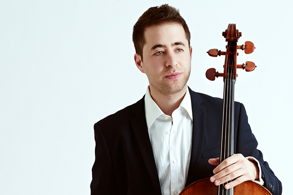World-renowned cellist, Matt Zalkind, performing at the U