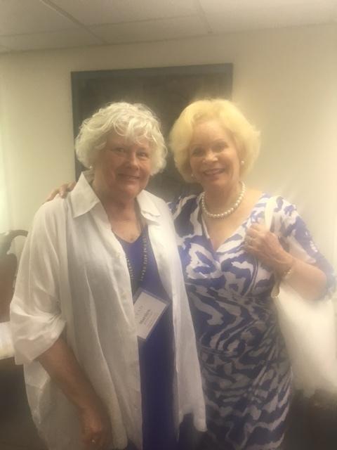Marilyn Whitehead and Nancy Marriott
