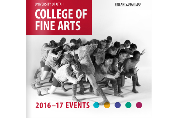 The College of Fine Arts 2016-17 season events calendar!