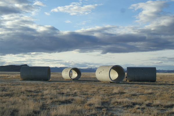 Sun Tunnels in Lucin, Utah. Photo credit: Wikipedia