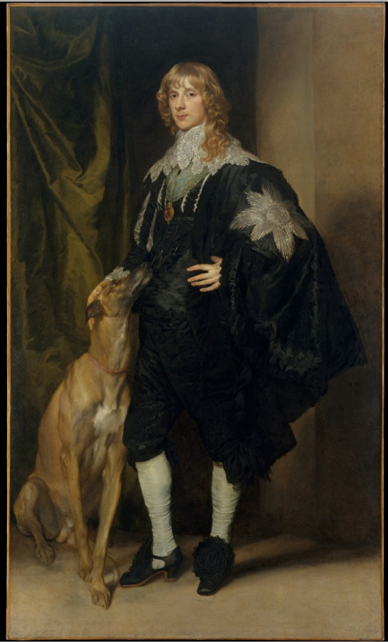 James Stuart (1612-1655), Duke of Richmond and Lenno  x   Anthony van Dyck (Flemish, Antwerp 1599-1641 London)