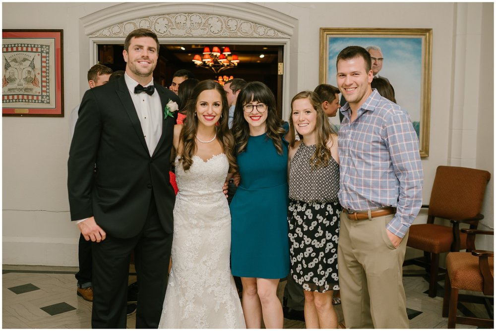 Also, it was so good to see Kelly and Owen again! I love when brides refer me to others and the whole gang gets back together! <3