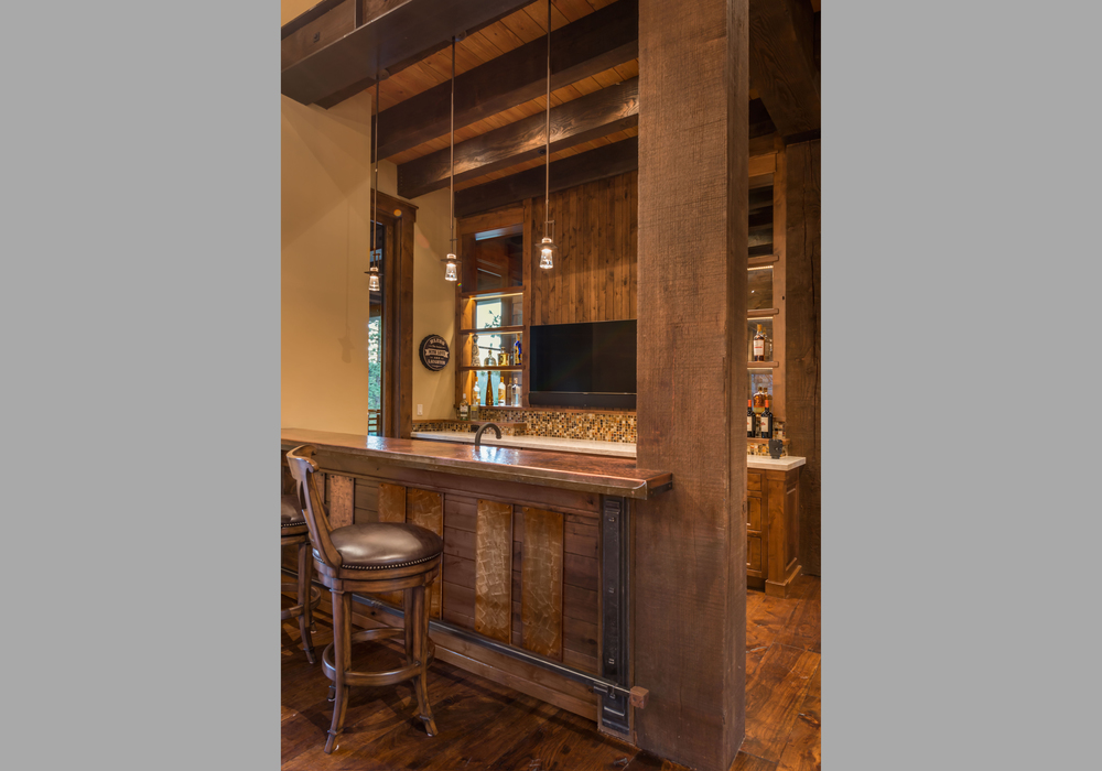 Contractor: Jim Morrison Construction    Interior Finishes: WaltonAE  Photography: Vance Fox   Square Footage: 6,635 sf   Features: Covered Outdoor Dining, Game Room, Built-In-Bar, Wine Cellar, Outdoor Shower   bedrooms: 5   bathrooms: 5.5