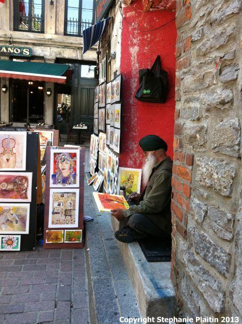 Montreal Street Artist