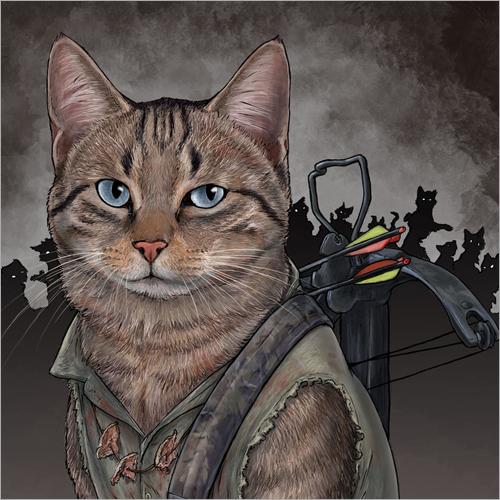 Daryl Dixon Cat