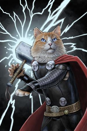 Thor Of Thunder 19 Animal Variant