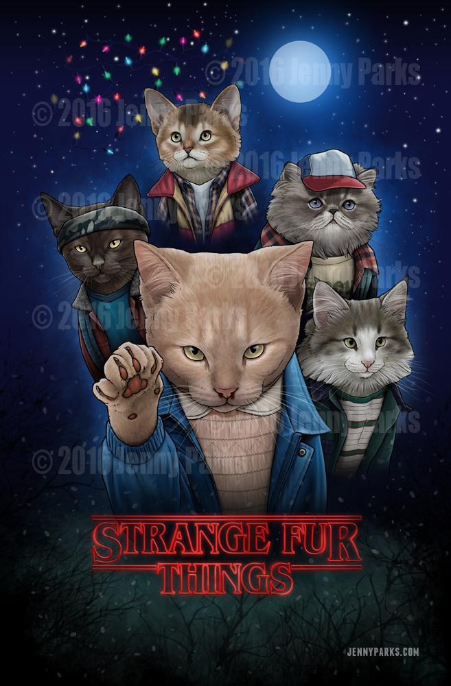 Strange Fur Things