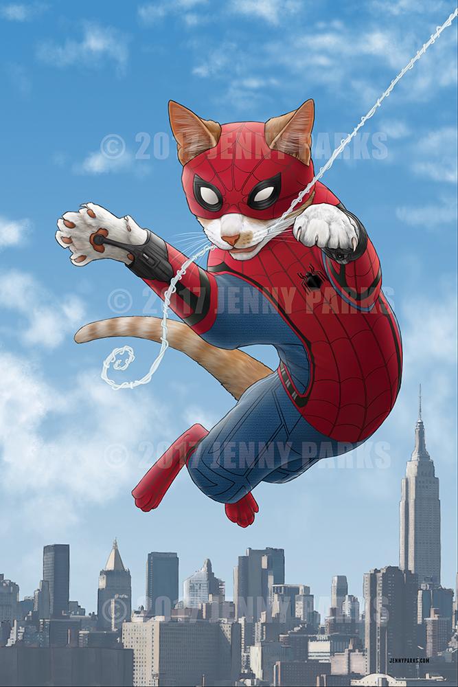 Spider-Cat