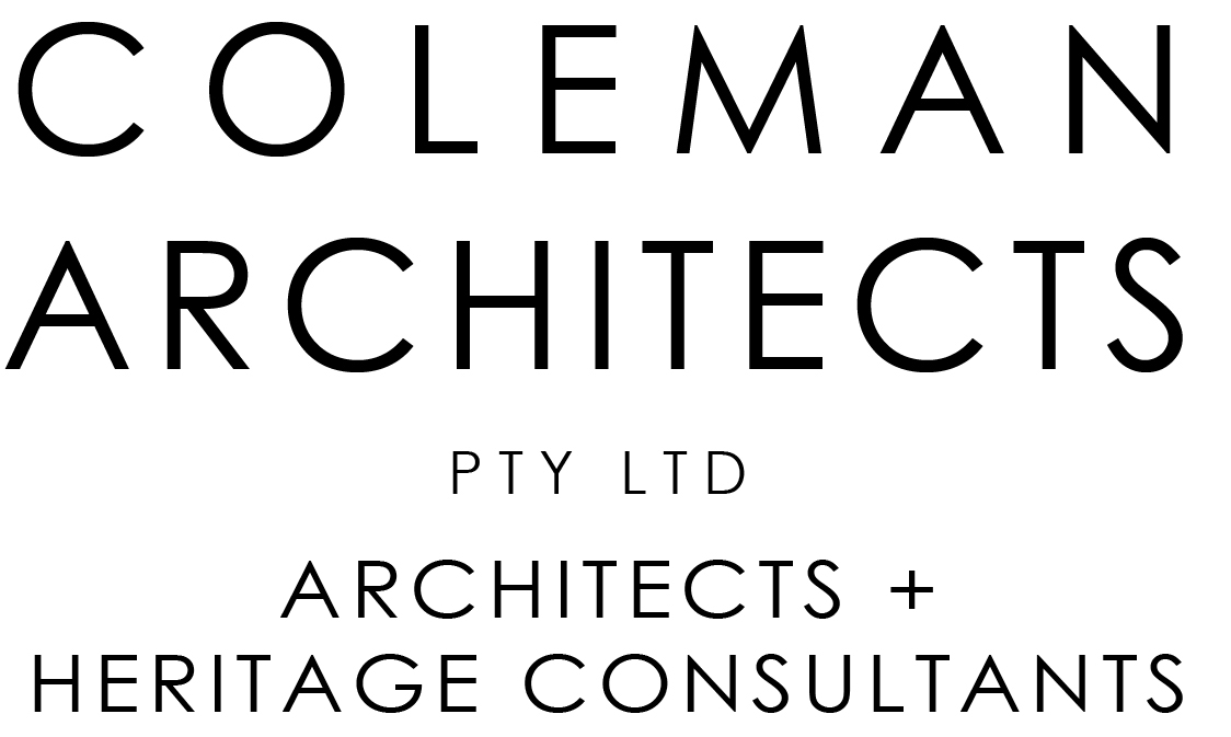 COLEMAN ARCHITECTS PTY. LTD.