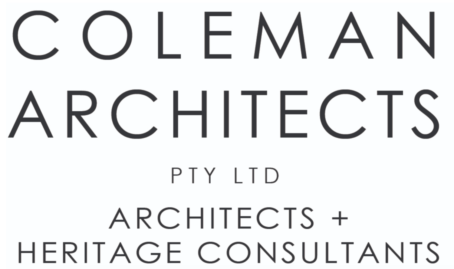COLEMAN ARCHITECTURE + HERITAGE