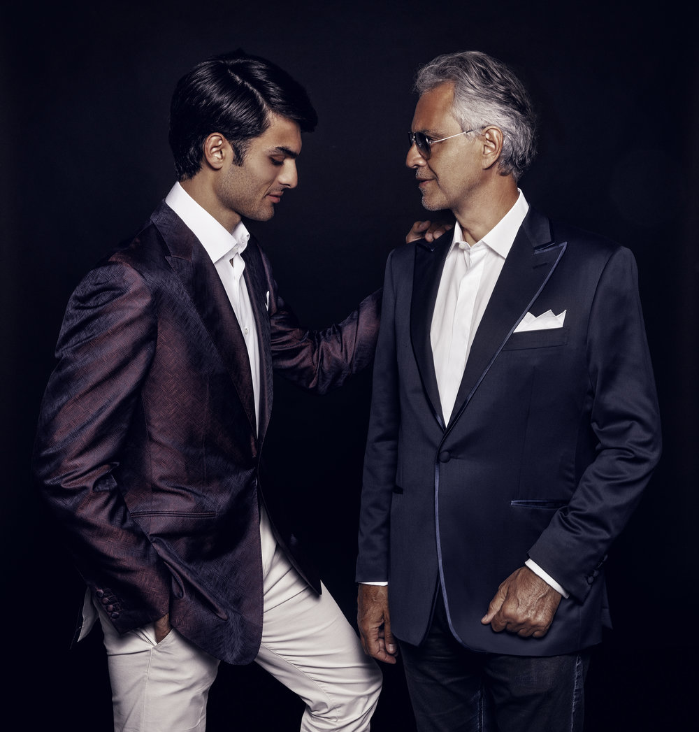 Andrea and Matteo Bocelli