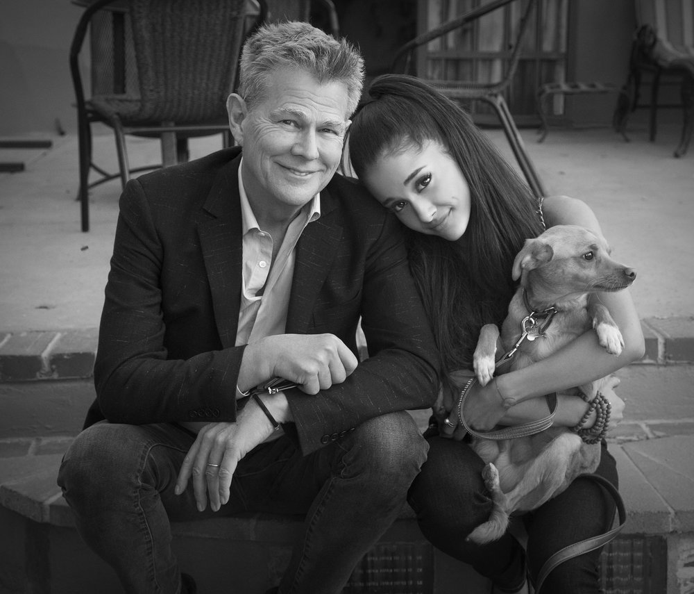 David Foster, Ariana Grande and Toulouse