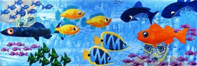 """Sandi's fish"""