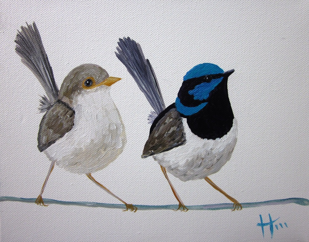 'Wrens She and He'