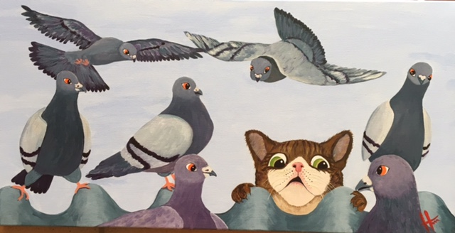 The cat amongst the pigeons.jpg