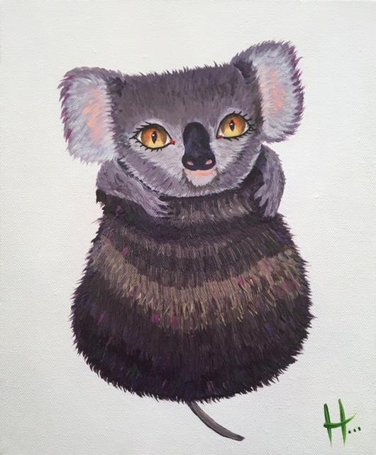 Gumnut Koala  SOLD