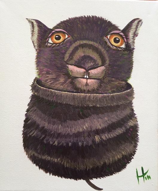 Gumnut Wombat  SOLD