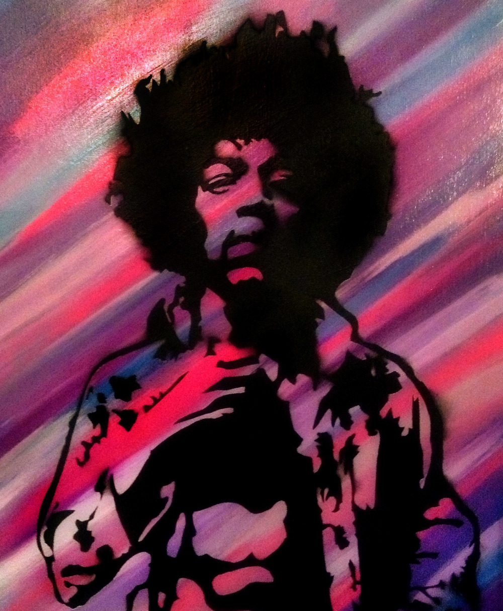 """Untitled Hendrix"" Collaboration with Steven Swancoat"