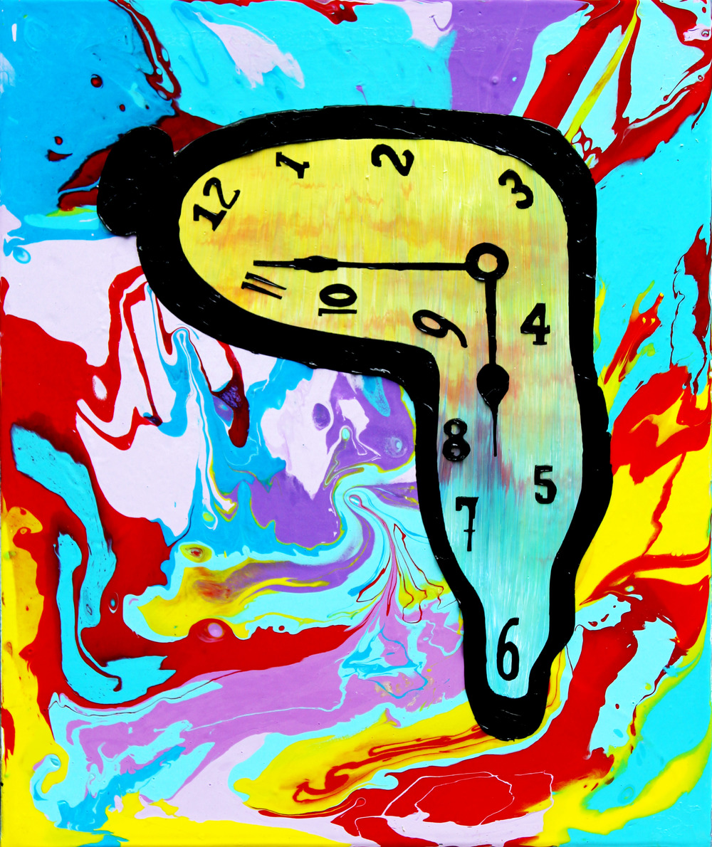 """Dali Clock"" Collaboration with Steven Swancoat"