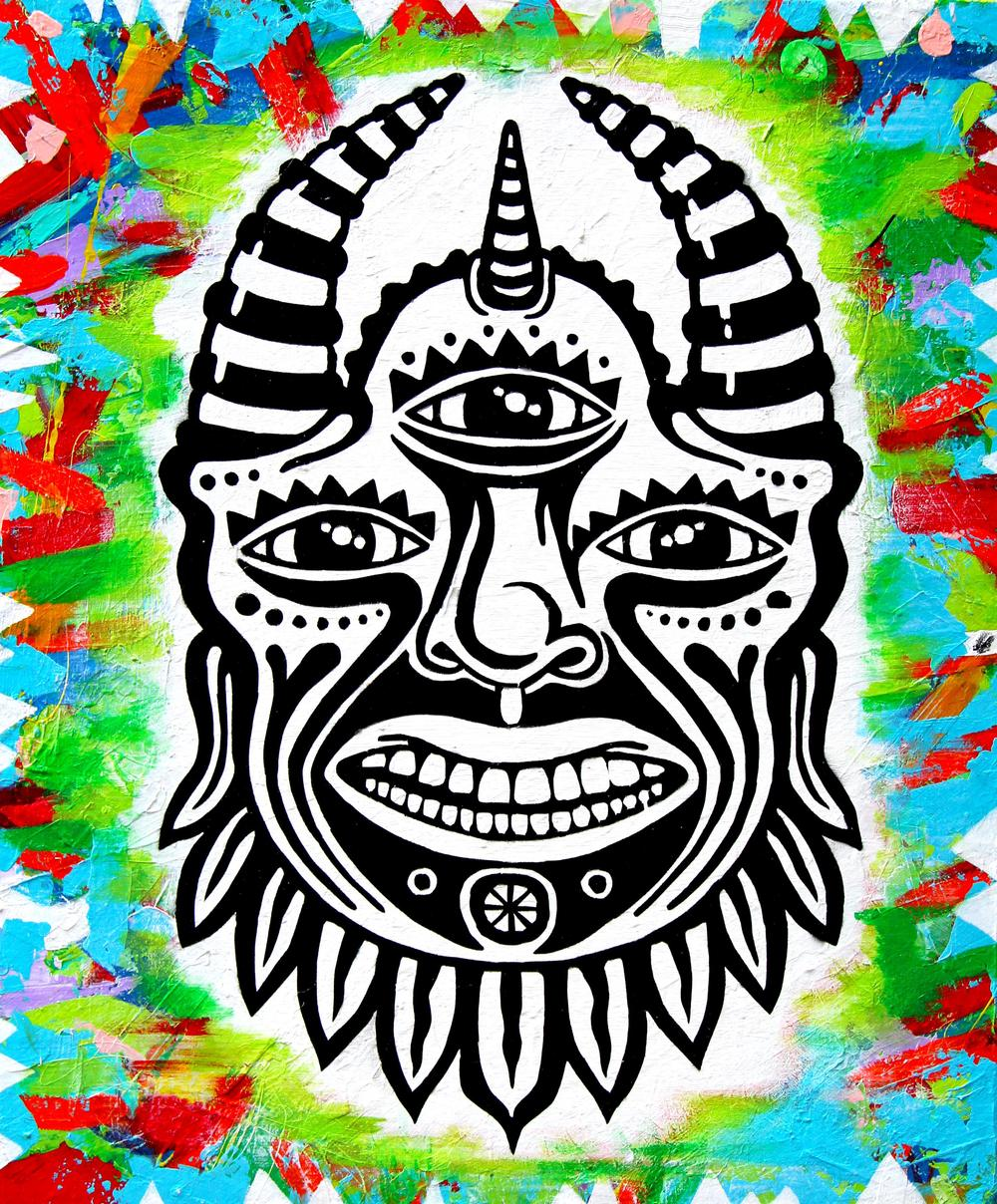 """Chief Zulu"" Collab with illustrator Tyler Grobowsky"