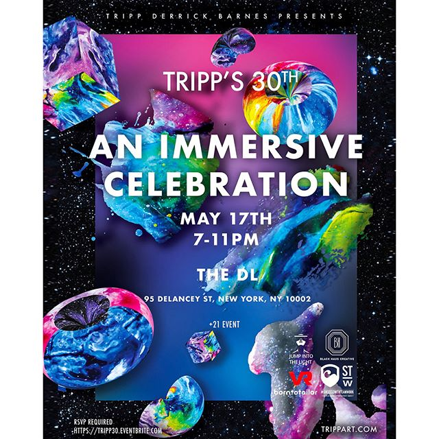 I'll be throwing a big event on May 17th! Custom built intergalactic Virtual Reality Worlds you can #travel through, contemporary #oil & Neo-Pop pieces on display, trippy and colorful live entertainment/performances. All happening at The DL, a multi-floor venue with one of the largest retractable rooftop's in NYC!  Happy hour + Meet and Greet 7-8pm on first floor. Would absolutely love to have y'all come!! This will be a #celebration of those such as yourself who've supported me along my journey of a career! Hope to see you there! 🚀🚀 Link to RSVP (required) can be found in my insta bio! (If you know me personally and didn't receive an invitation please reach out!) #nycevents #artevent #trippart #vr #virtualreality #artistsoninstagram #artparty #contemporaryart #neo-pop #art #theDL #artists #popneoism