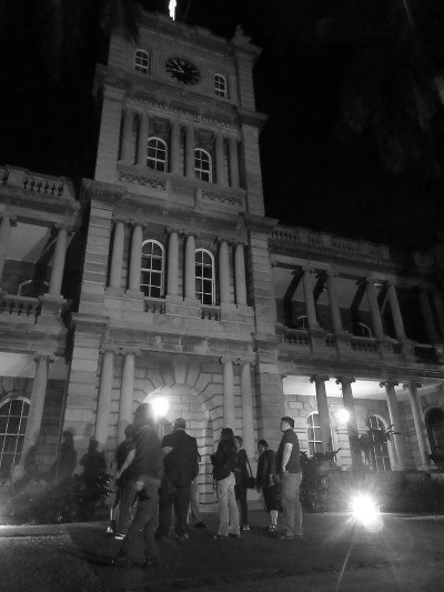 Courthouse Ghost Tour at Night, Ali'iolani Hale