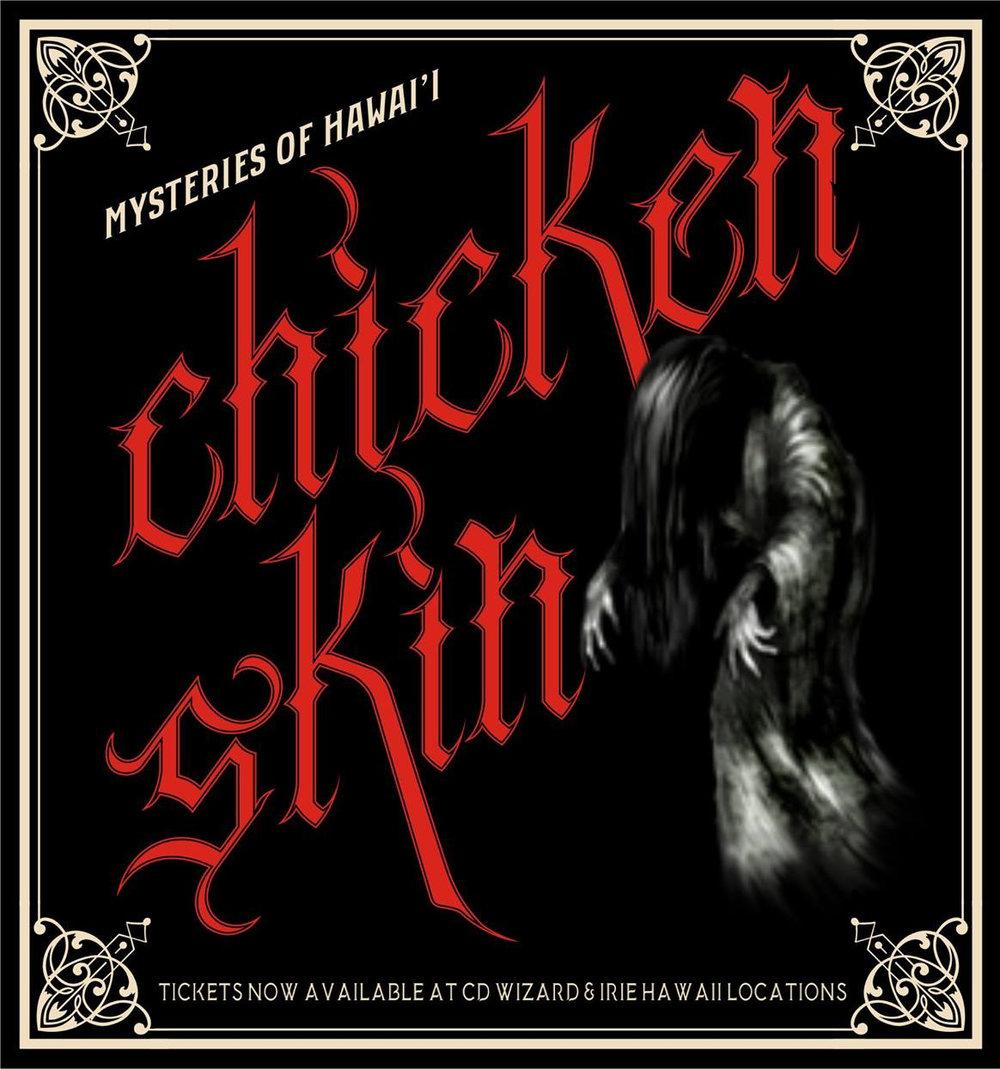 Chicken Skin ghost stories Volcano, Hawaii
