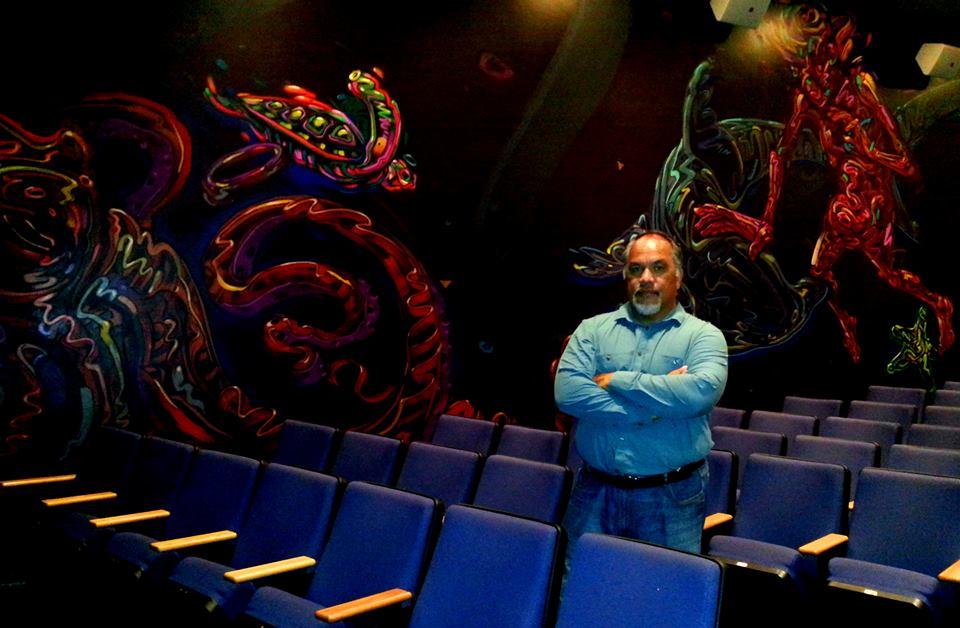 Lopaka Kapanui telling real Hawaiian Ghost Stories at Doris Duke Theater