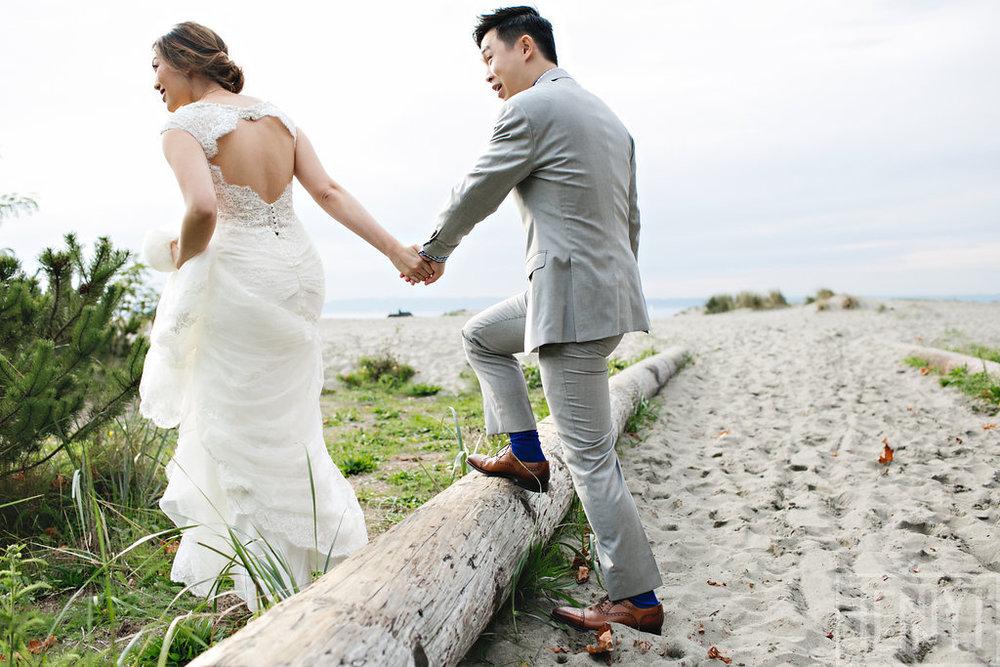 Puget Sound Beach Wedding