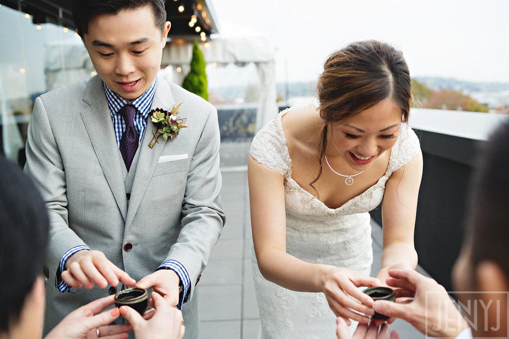 Tea Ceremony Seattle Wedding