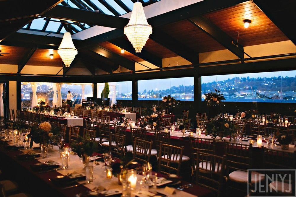 Olympic Rooftop Pavilion Wedding