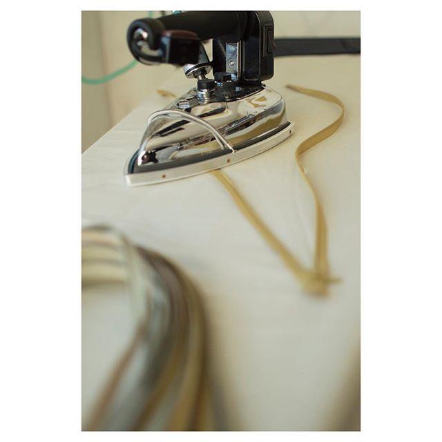 Then we iron the zippers, yes, it's a thing #handmadeinnyc . . . . . . . . #luxuryhomes #interiordesign #interiorfabrics #womenentrepreneurs #luxury #silk #pillows #designnyc #nycdesign #smallbusiness #interiors #luxe #homedecor #handmand #parisdesign #madeinusa #bostondesign #salon #altforliving #textiles #hometextiles #interiortextiles #collectibledesign #design #collectibles #salon #salone #milansalone #designprocess #theprocess