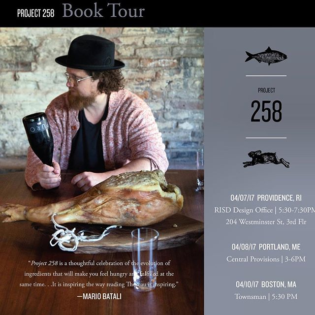 Mark your calendar.  #project258 East Coast Book Tour.