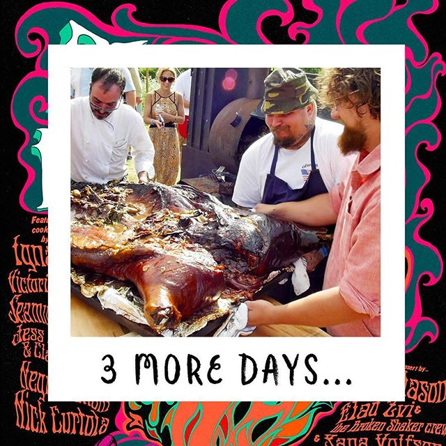 "The Countdown is on! Just 3 days to go till... Fish & Game and Resy Present 🔥""Play with Fire"" 🔥A celebration of Live Fire cooking supported by Ketel One Family-Made Vodka at Fish & Game Farm, Hudson Valley. 2 + hours drive North from New York City. August 11th. 3pm-9pm Proceeds go to The Heirloom Foundation. There are still a few tickets available, click the link in our bio! 👉 Not going to Play with Fire?  @fishgamehudson we'll be open for business as usual this Saturday! . . . . #playwithfirehudsonvalley #chef #chefs #cheflife #zakarypelaccio #chefsofinstagram #hudson #hudsonny #hudsonnewyork #hudsonvalley #upstate #upstatenewyork #upstateny #columbiacounty #nycrestaurants #huffposttaste #eaterny #grubstreet #seriouseats #yelpeatsnyc #buzzfeast #foursquarefind #tastingtable #newforkcity #timeoutnewyork #zagatny #fishandgamefarm #fishandgamehudson @ketelone @resy #resy"