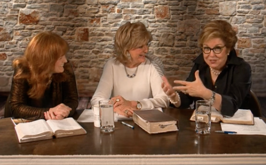 Pam Gillaspie, Kay Arthur, and, Jan Silvious talk Mentoring in a june 2014 Precept Live Event.