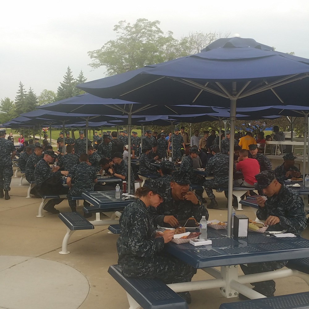Messlords! Navel Station Great Lakes. Nothing like feeding 3500 graduating recruits!
