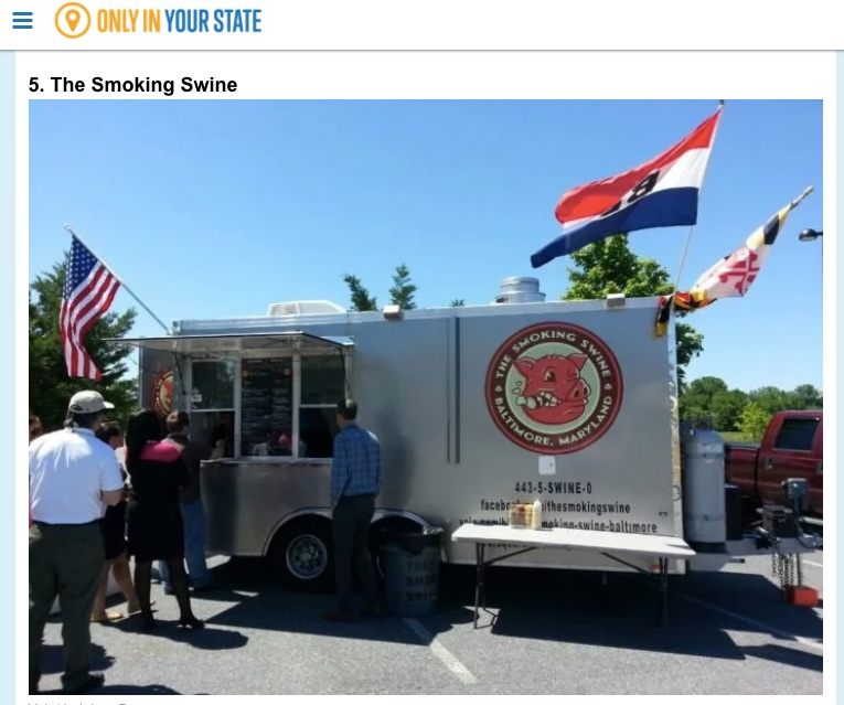 TOP 10 FOOD TRUCKS IN MARYLAND… ONLYINYOURSTATE.COM