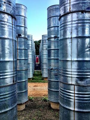 Barrel corridor.