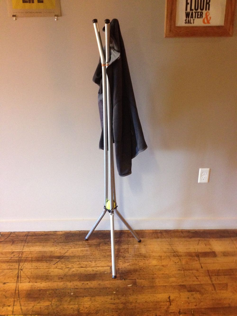 The Conduit Coat Rack.